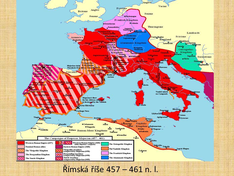 Římská říše 457 – 461 n. l.