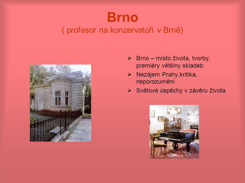 Brno ( profesor na konzervatoři v Brně)