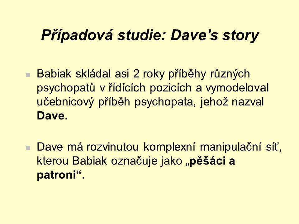 Případová studie: Dave s story
