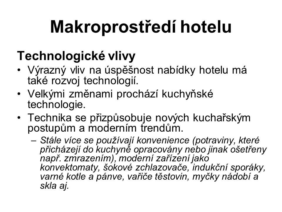 Makroprostředí hotelu