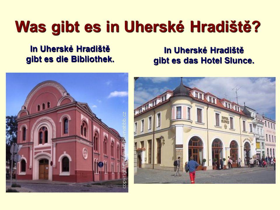 Was gibt es in Uherské Hradiště