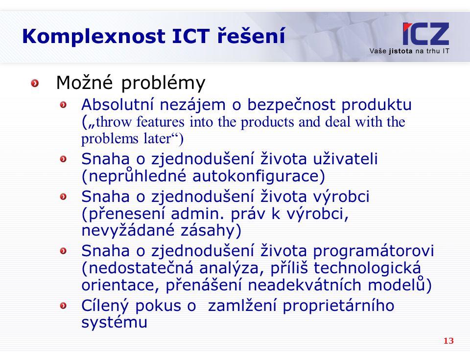 Komplexnost ICT řešení
