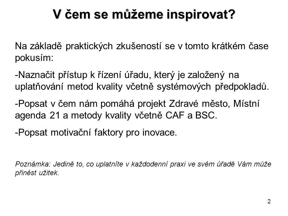 V čem se můžeme inspirovat