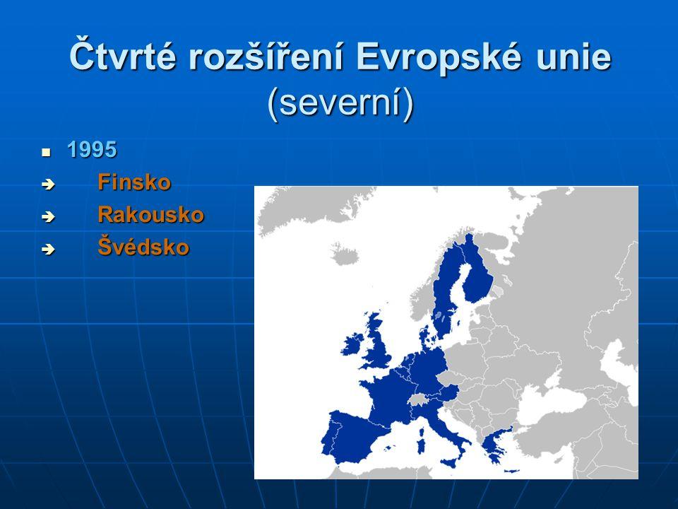 Čtvrté rozšíření Evropské unie (severní)