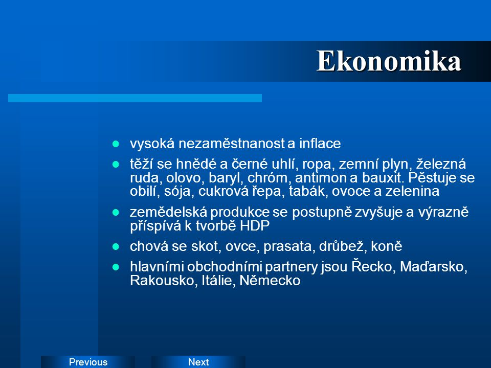 Ekonomika vysoká nezaměstnanost a inflace