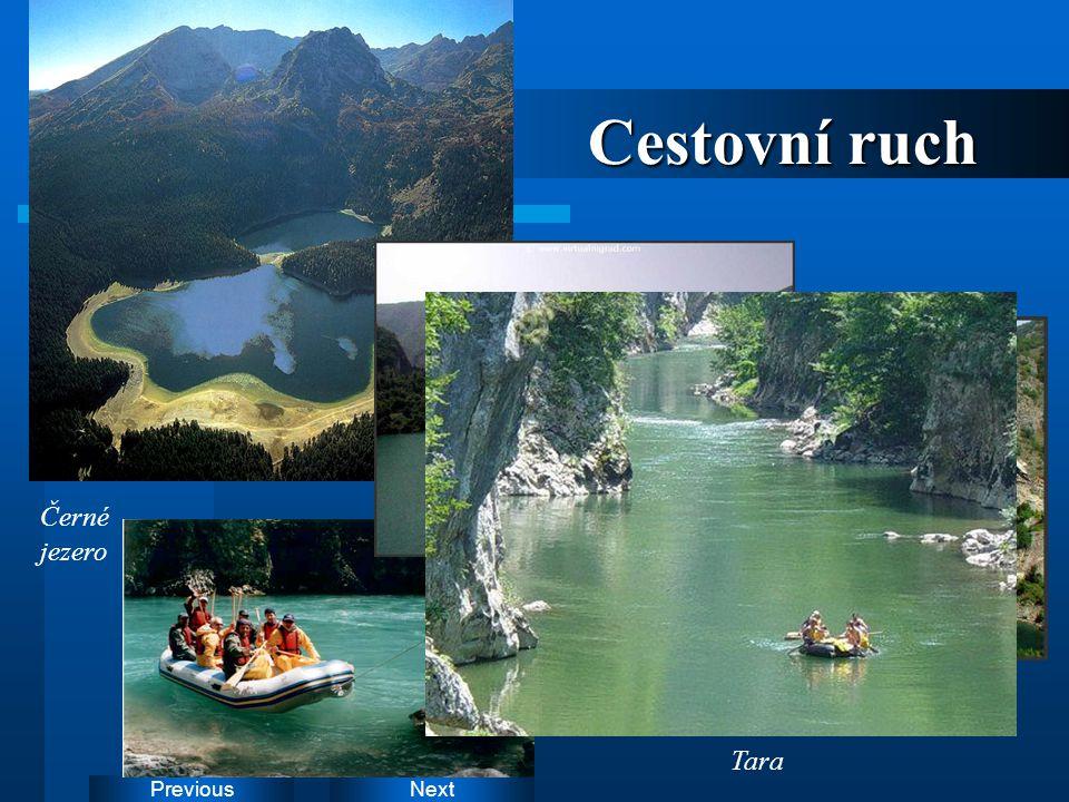 Cestovní ruch Černé jezero Drina Tara