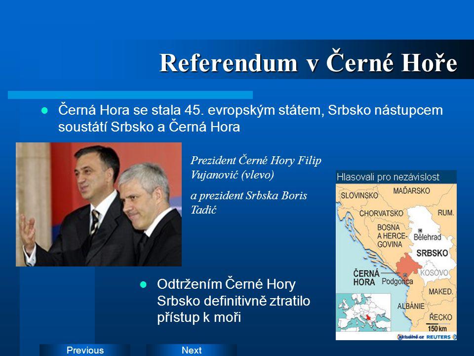 Referendum v Černé Hoře