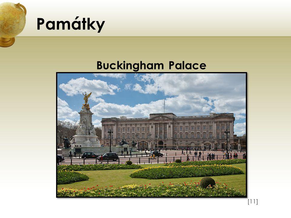 Památky Buckingham Palace