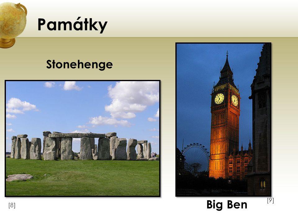 Památky Stonehenge Big Ben
