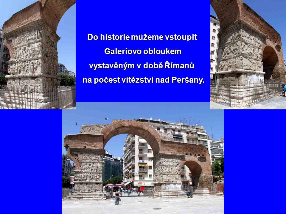 vystavěným v době Římanů na počest vítězství nad Peršany.