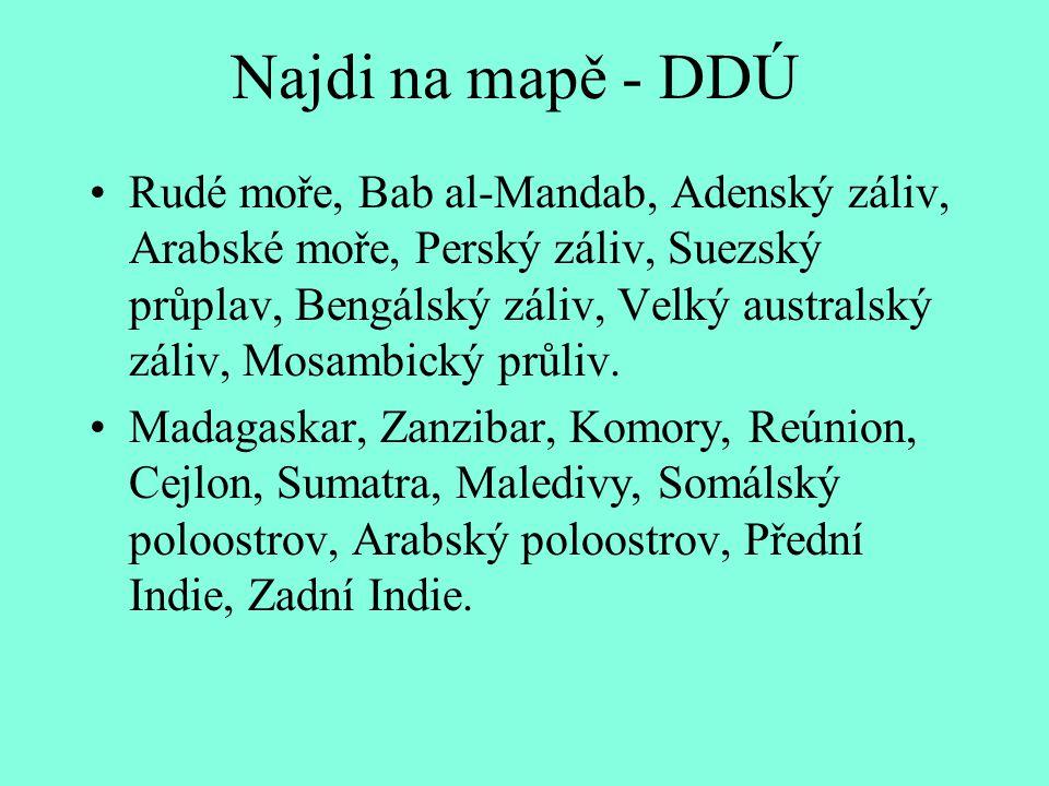 Najdi na mapě - DDÚ