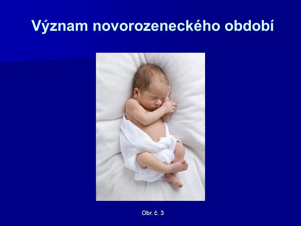 Význam novorozeneckého období