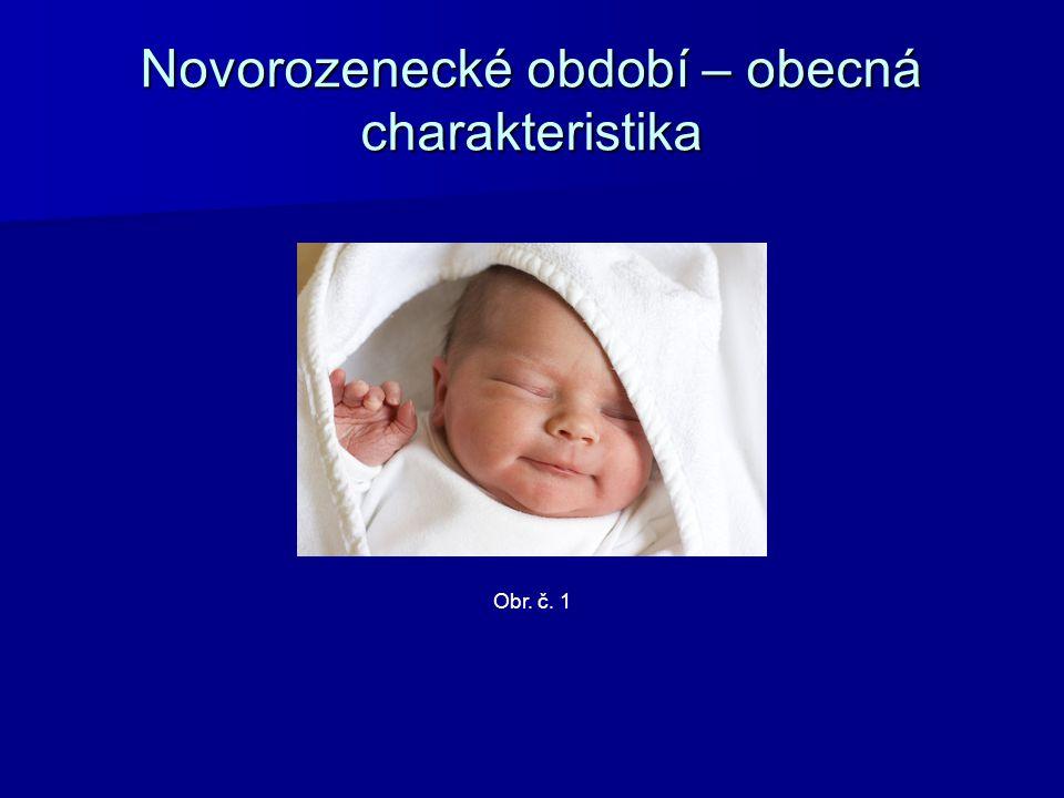 Novorozenecké období – obecná charakteristika
