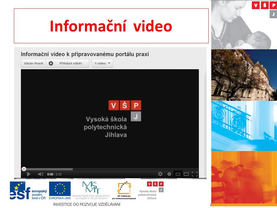 Informační video