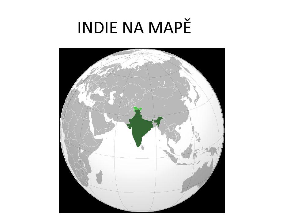 INDIE NA MAPĚ