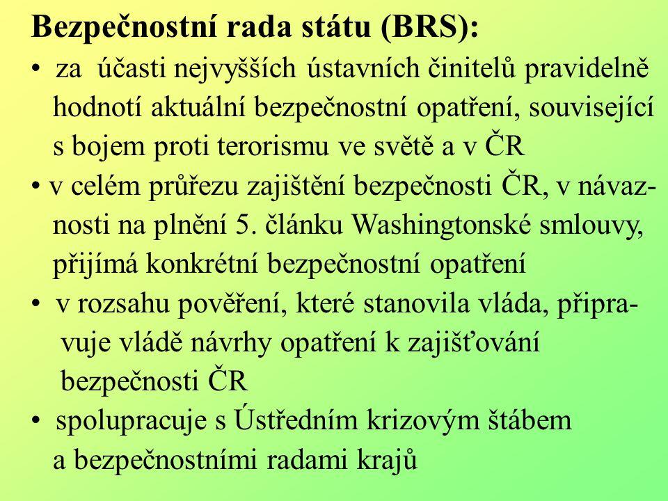 Bezpečnostní rada státu (BRS):