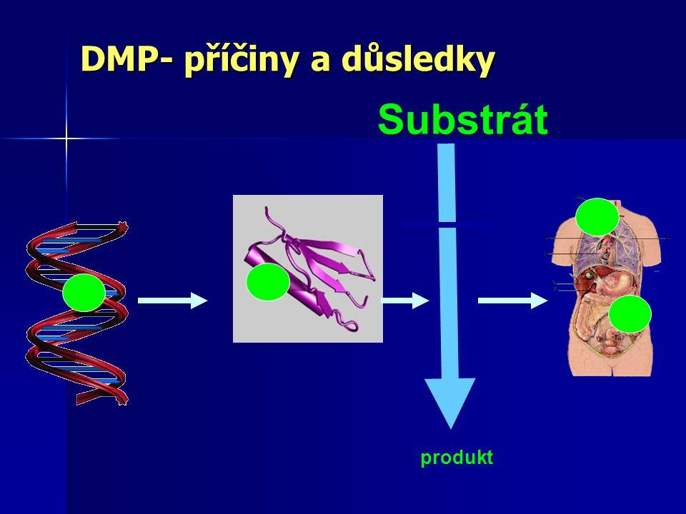 DMP- příčiny a důsledky