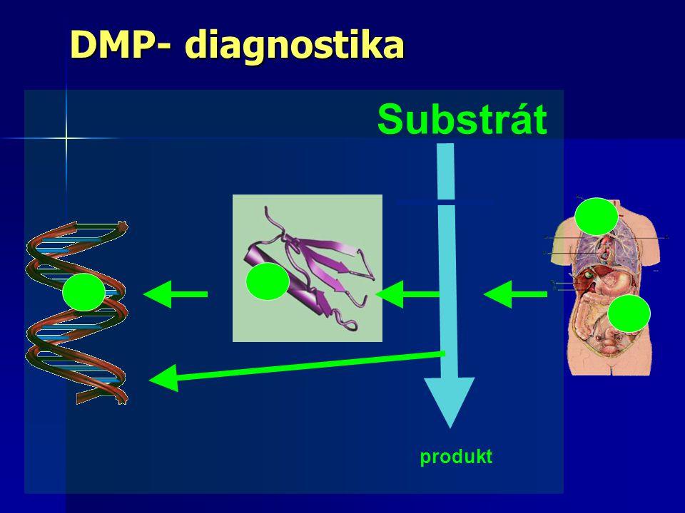 DMP- diagnostika Substrát produkt