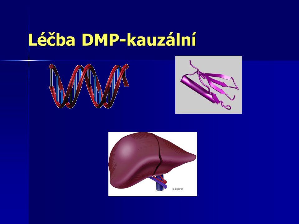 Léčba DMP-kauzální