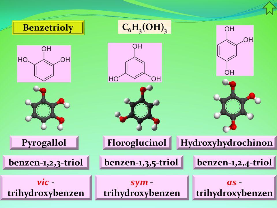 vic -trihydroxybenzen sym -trihydroxybenzen