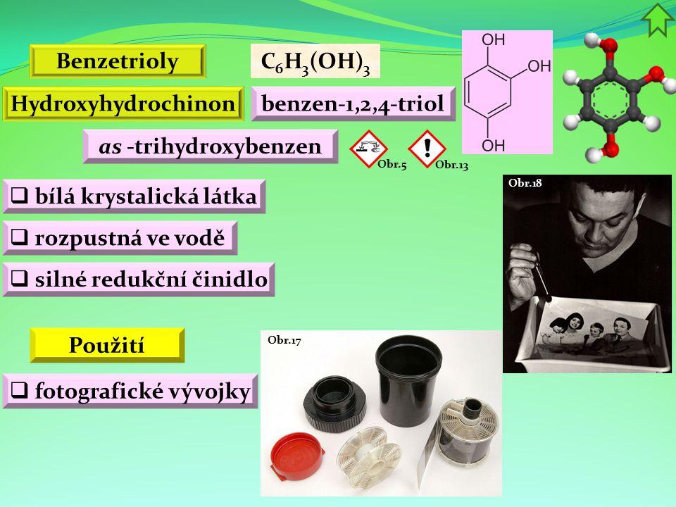 bílá krystalická látka