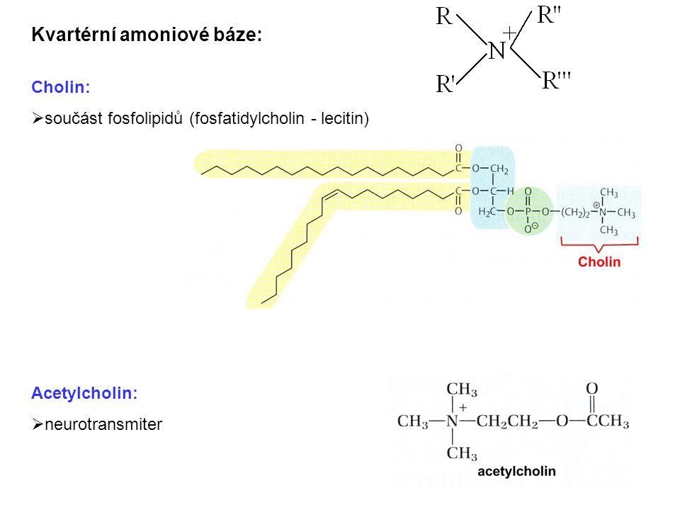 Kvartérní amoniové báze: