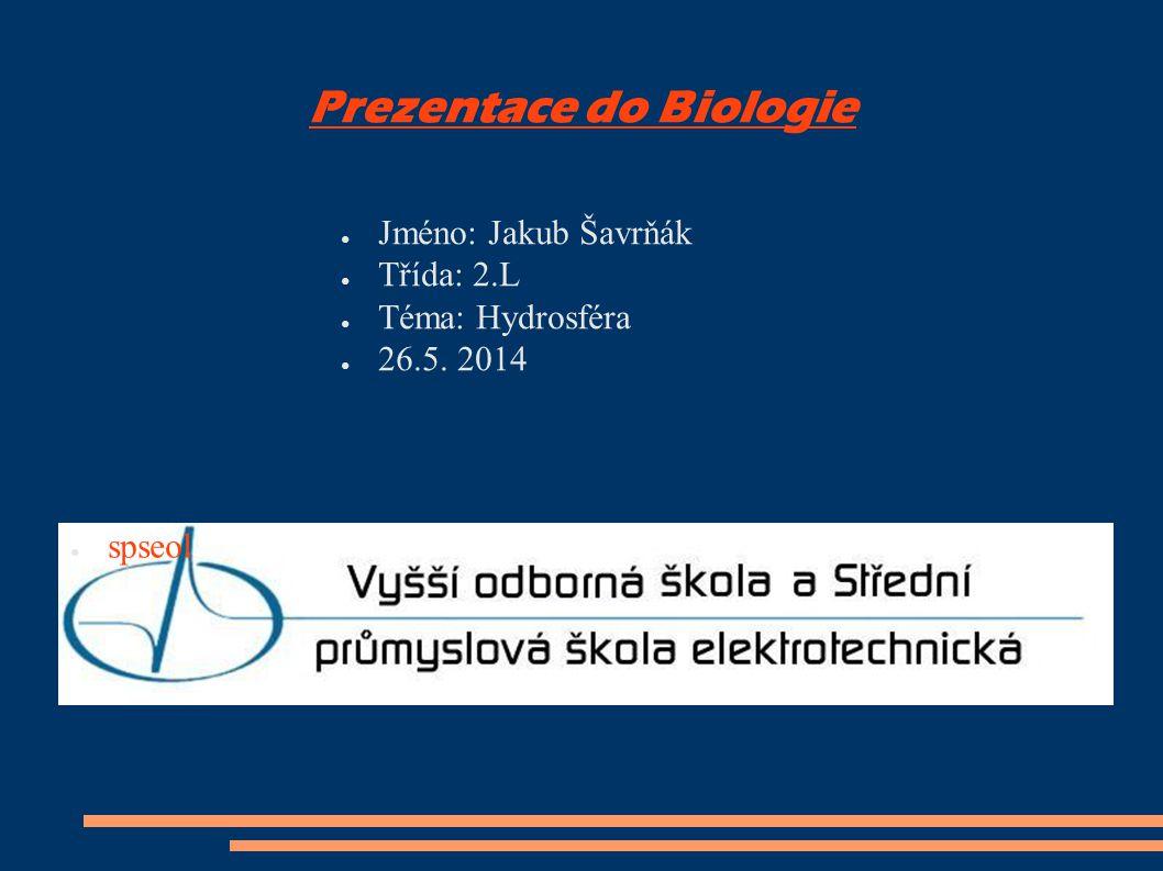 Prezentace do Biologie