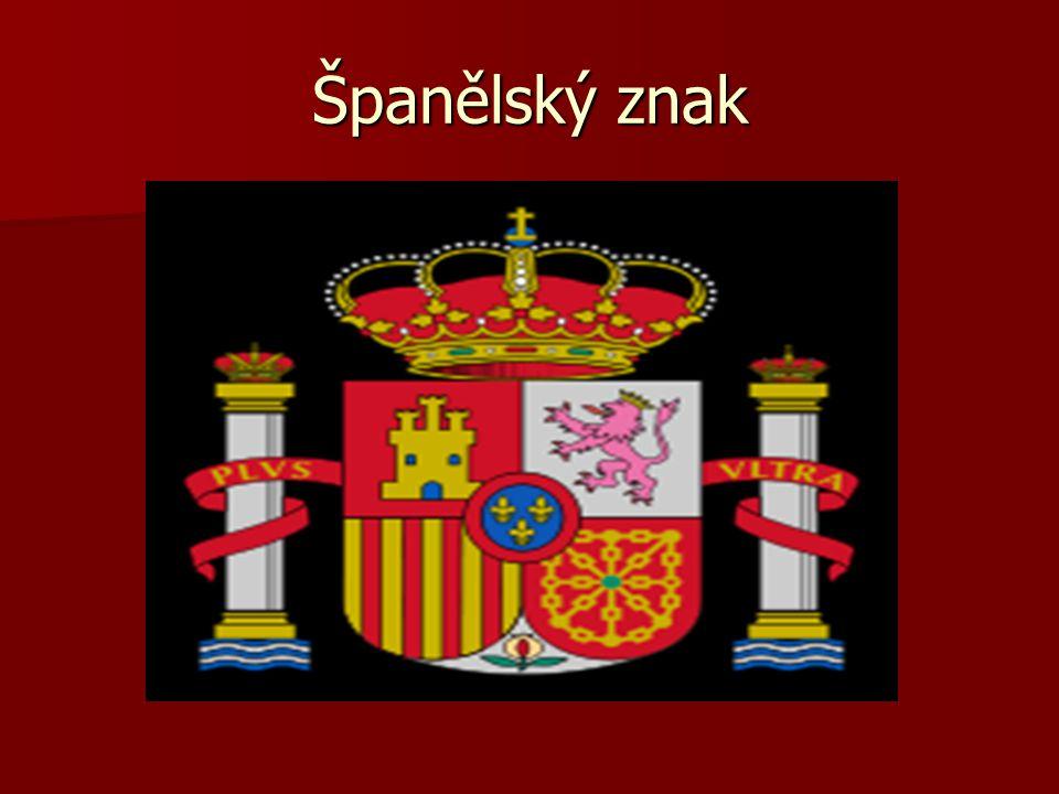 Španělský znak
