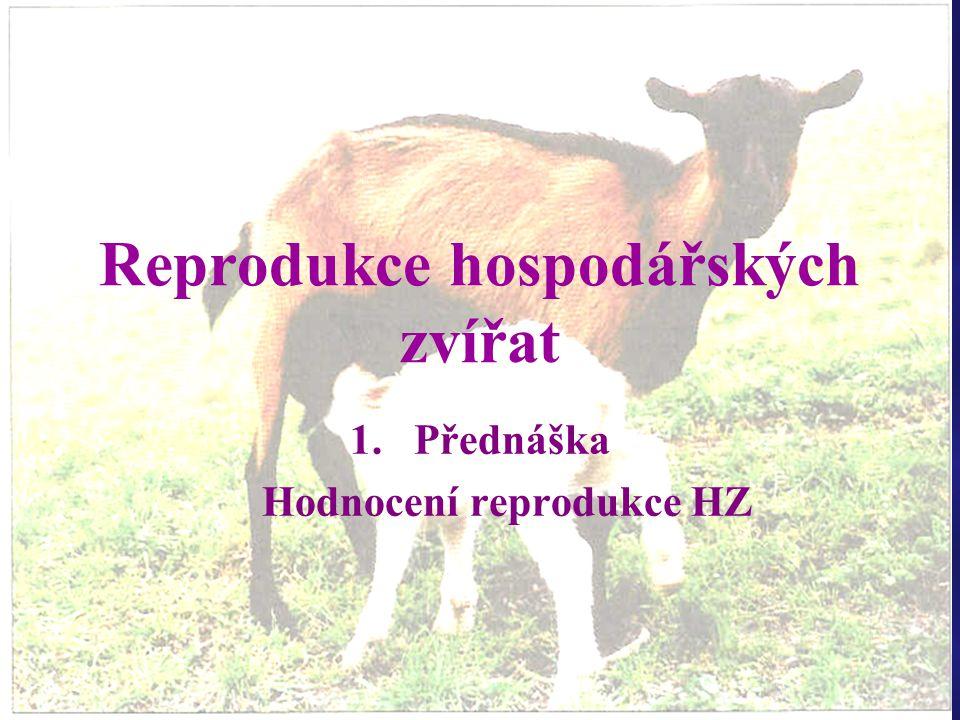 Reprodukce hospodářských zvířat