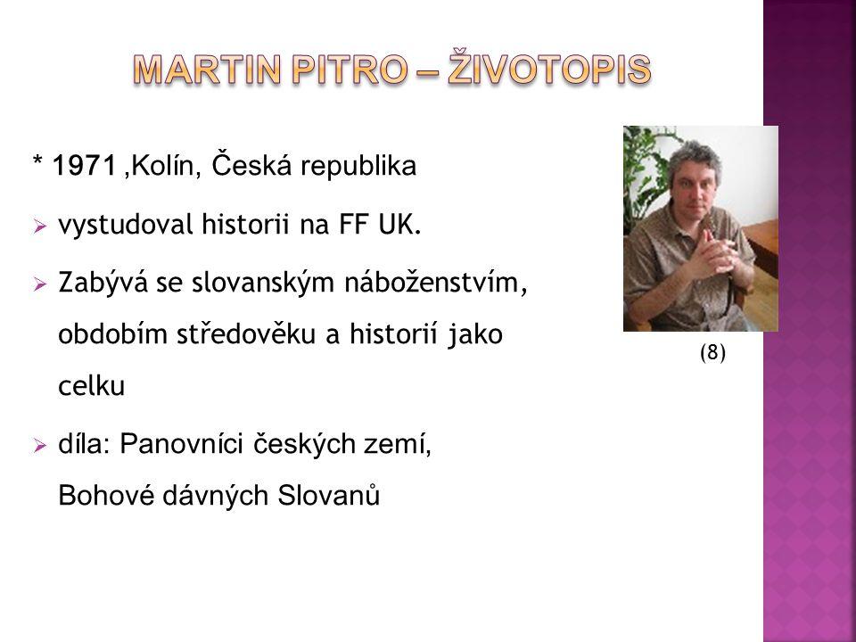 Martin Pitro – Životopis