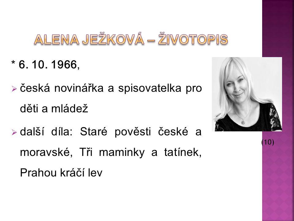 Alena Ježková – Životopis
