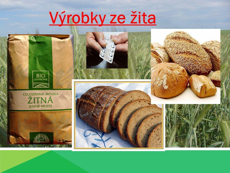 Výrobky ze žita Produkty žita
