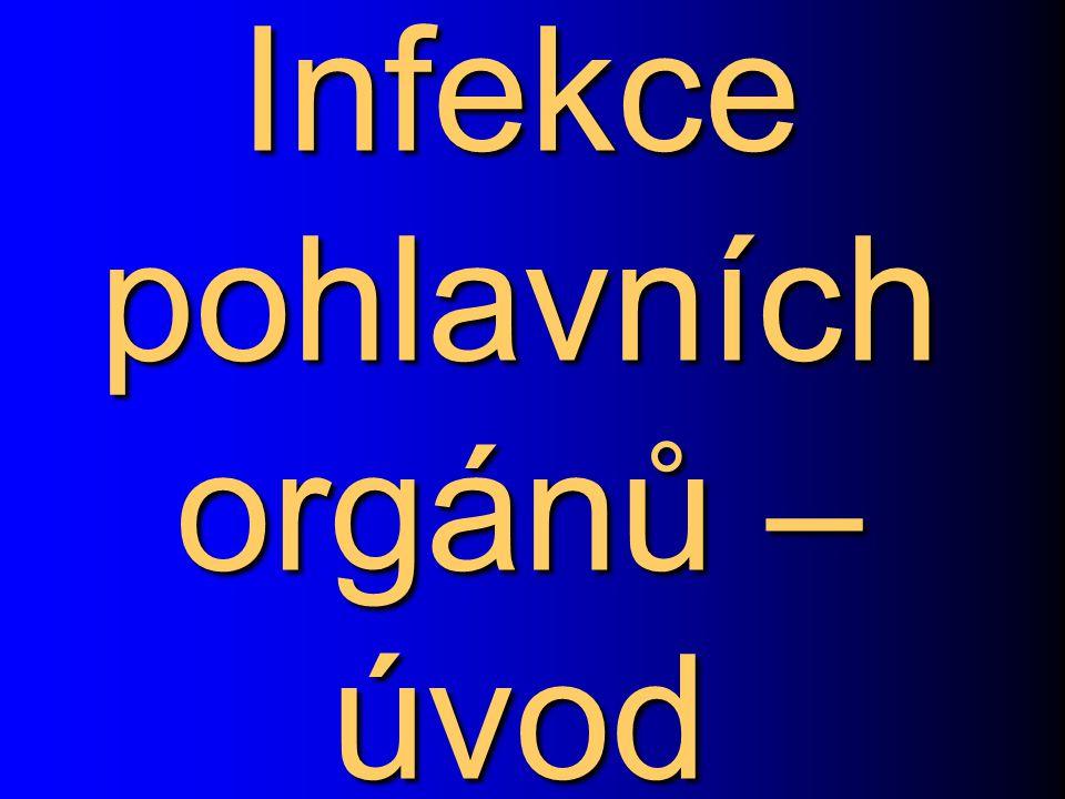 Infekce pohlavních orgánů – úvod