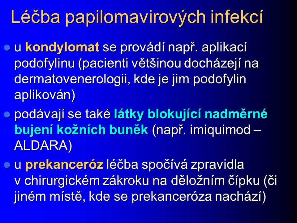 Léčba papilomavirových infekcí