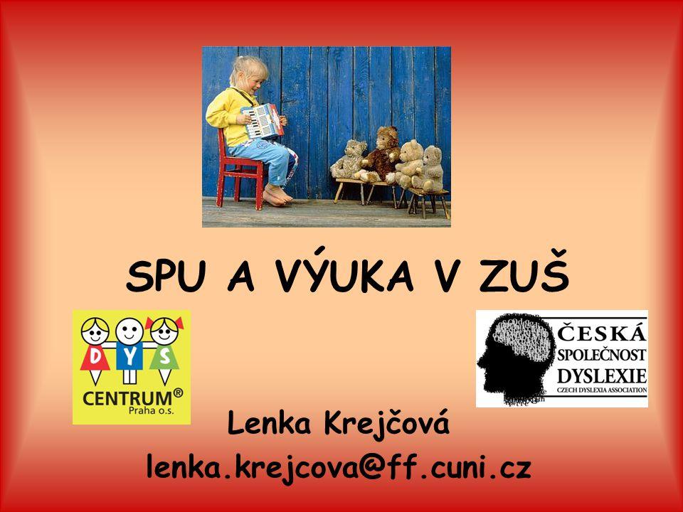 Lenka Krejčová lenka.krejcova@ff.cuni.cz