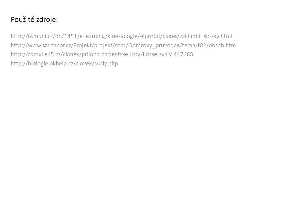 Použité zdroje: http://is.muni.cz/do/1451/e-learning/kineziologie/elportal/pages/zakladni_slozky.html.