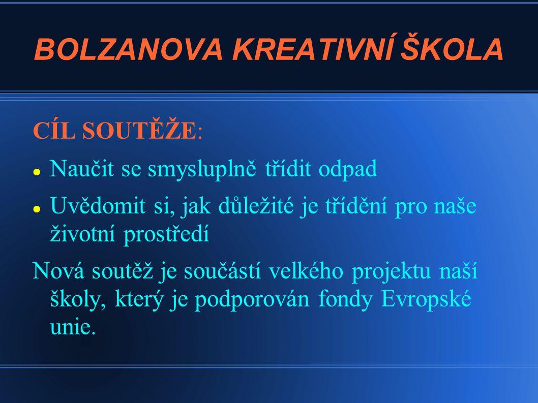 BOLZANOVA KREATIVNÍ ŠKOLA