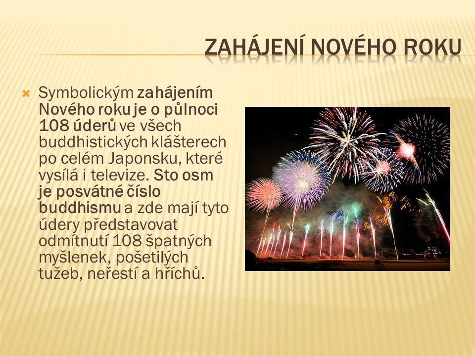 Zahájení nového roku