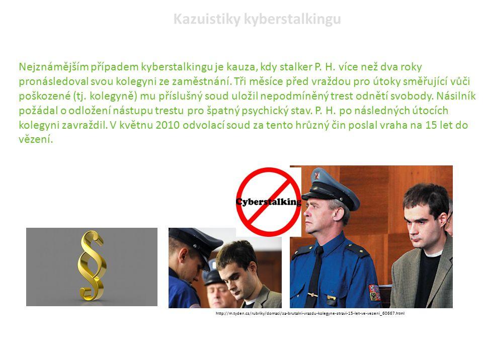 Kazuistiky kyberstalkingu
