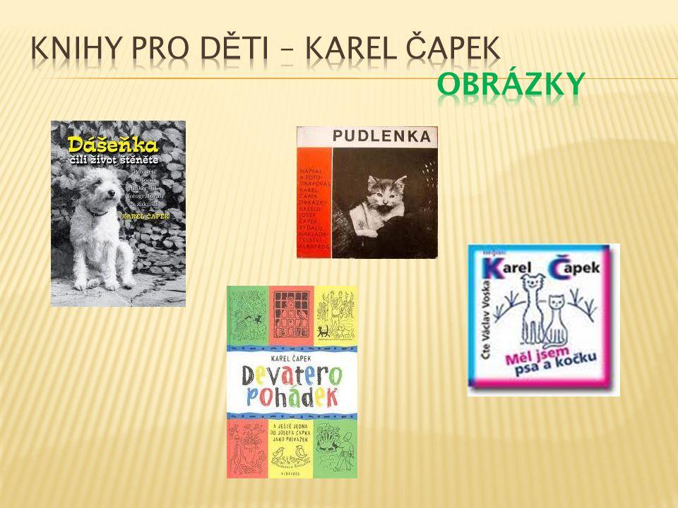 Knihy pro děti – Karel Čapek Obrázky