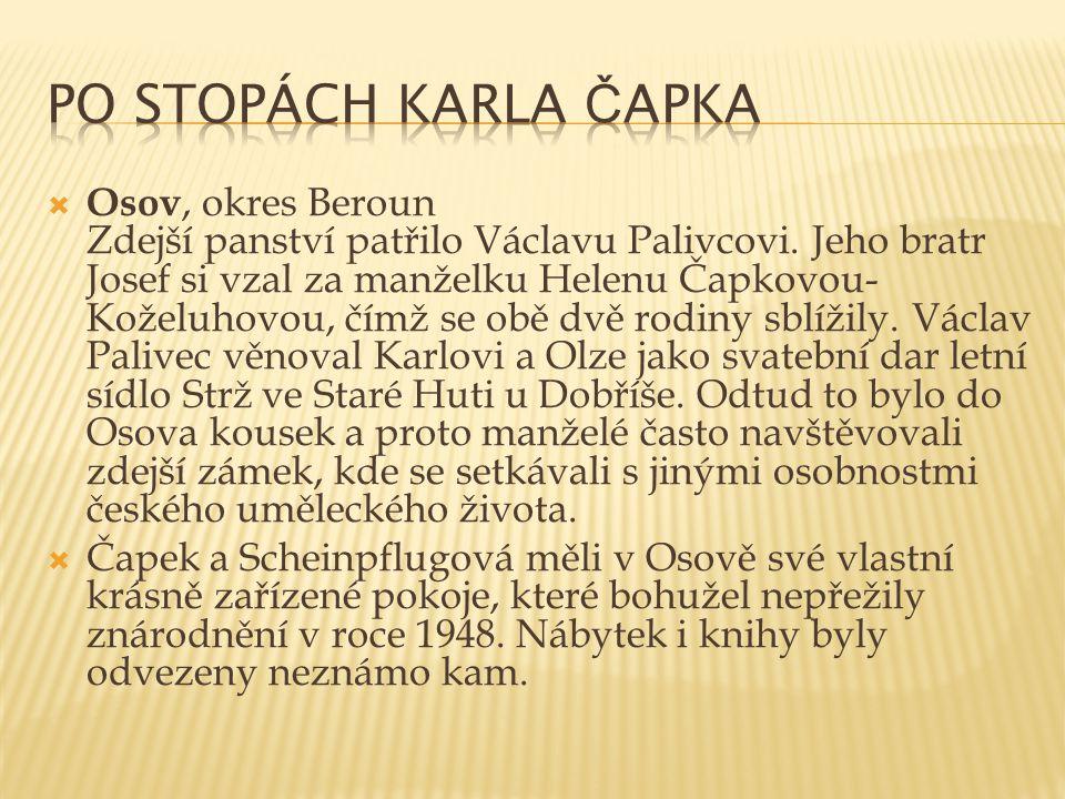 Po stopách Karla Čapka