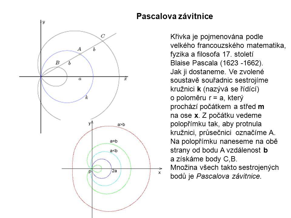 Technická mechanika 9.přednáška. Pascalova závitnice.