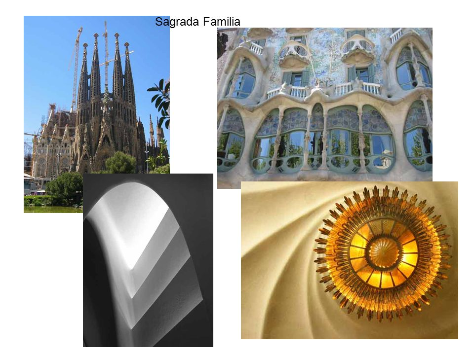 Technická mechanika 9.přednáška Sagrada Familia