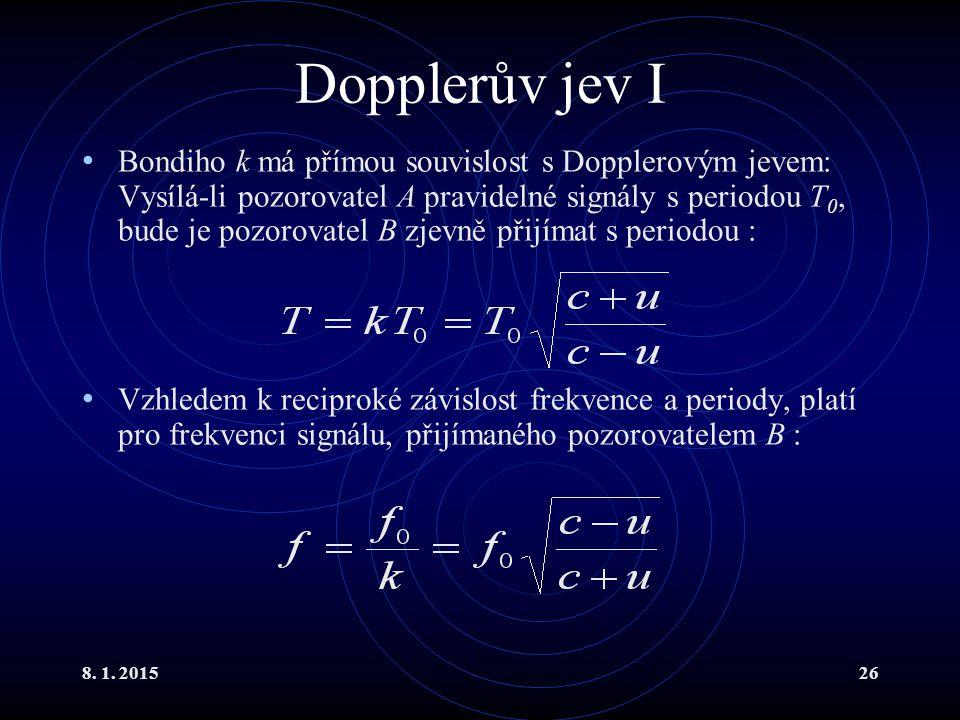 Dopplerův jev I