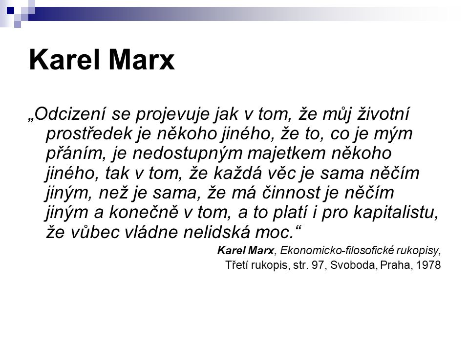 Karel Marx