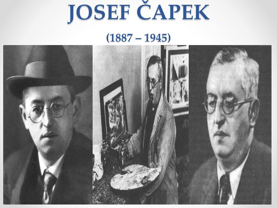 JOSEF ČAPEK (1887 – 1945)
