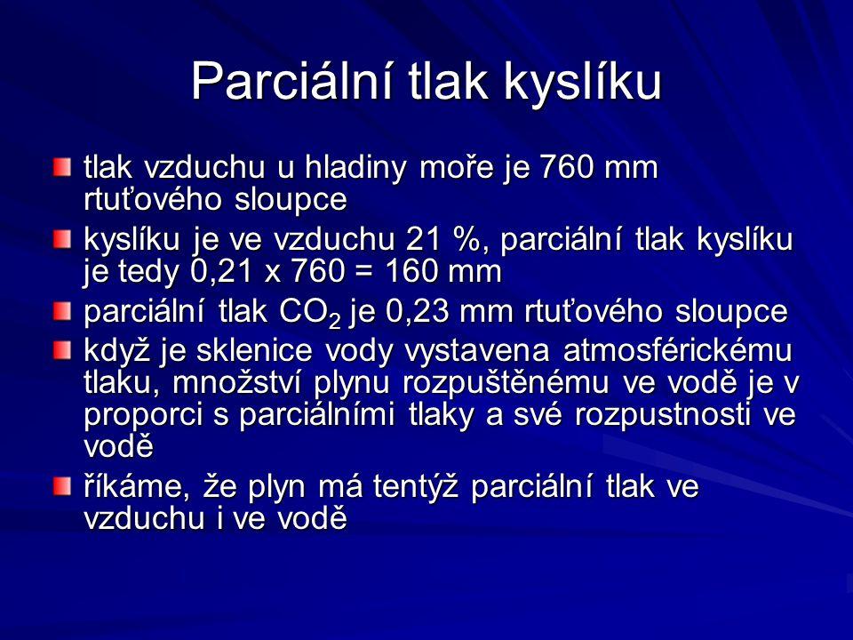 Parciální tlak kyslíku
