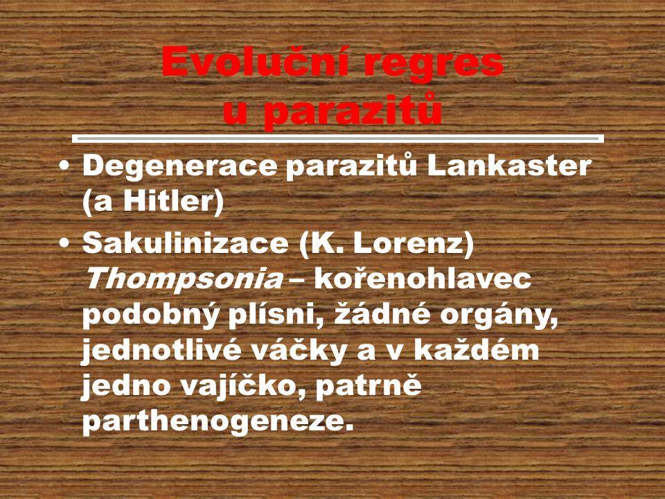 Evoluční regres u parazitů