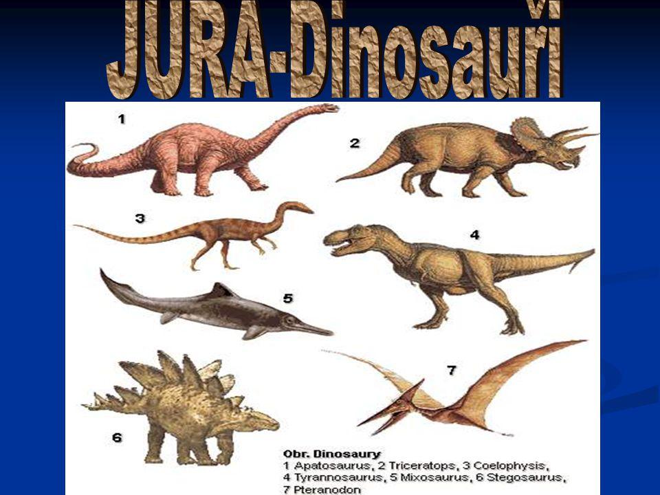 JURA-Dinosauři
