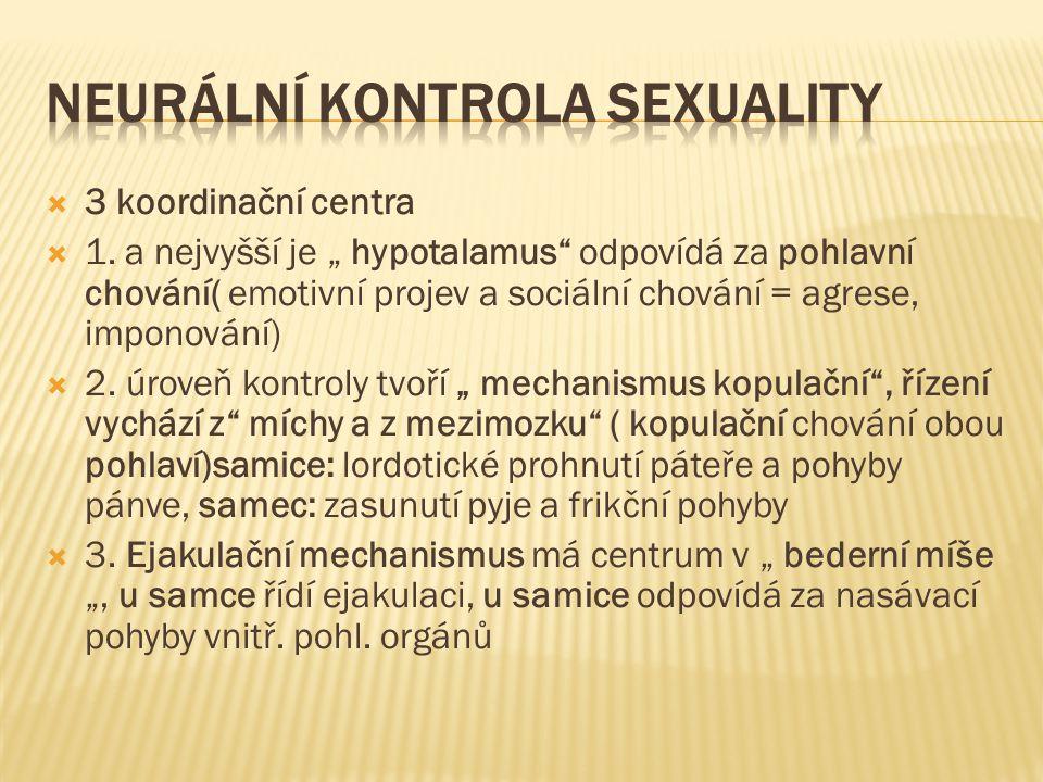 Neurální kontrola sexuality
